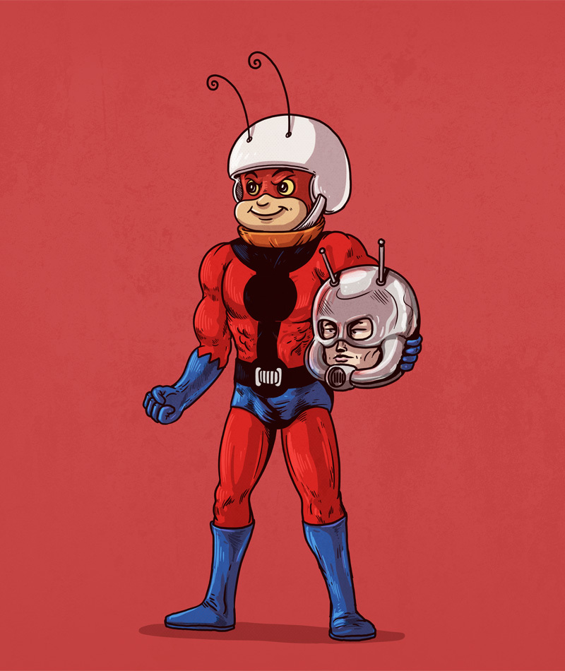 Atom Ant is Ant-Man