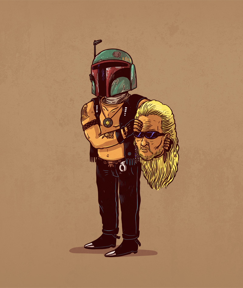 Boba Fett is Dog the Bounty Hunter