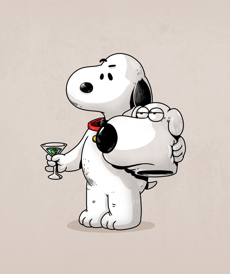 Snoopy is Brian