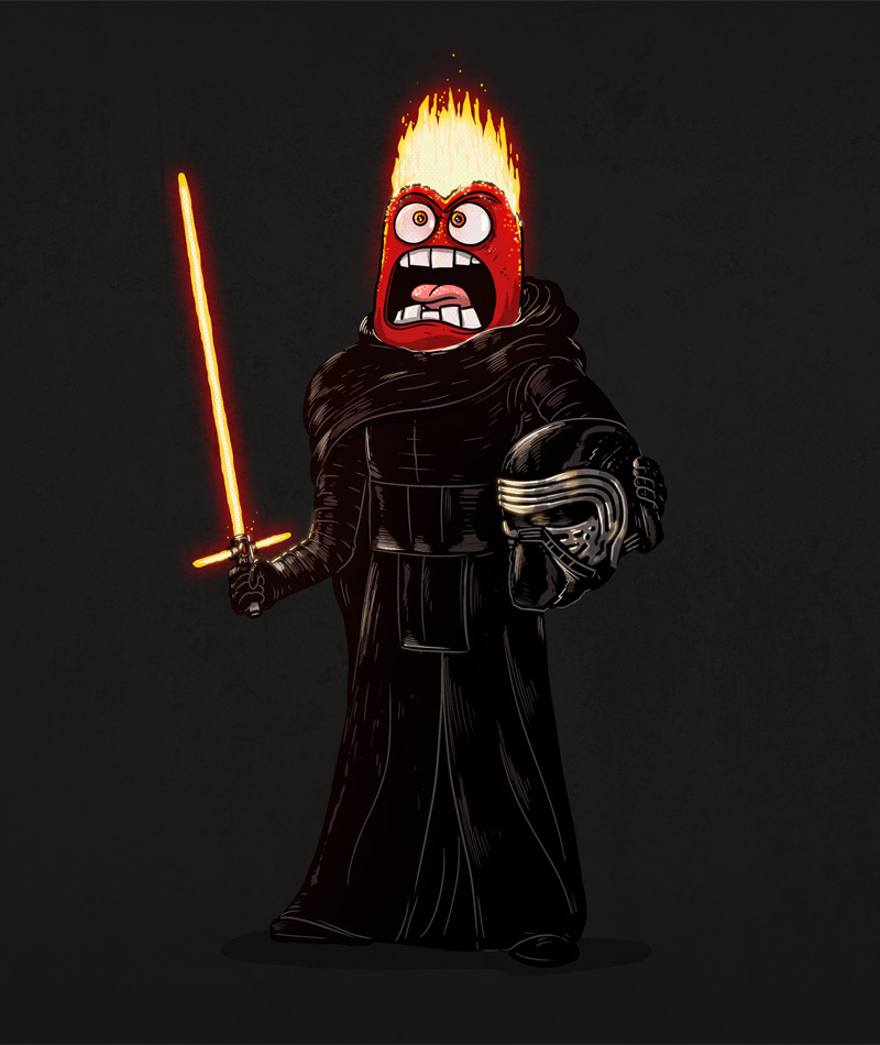 Kylo Ren is Anger