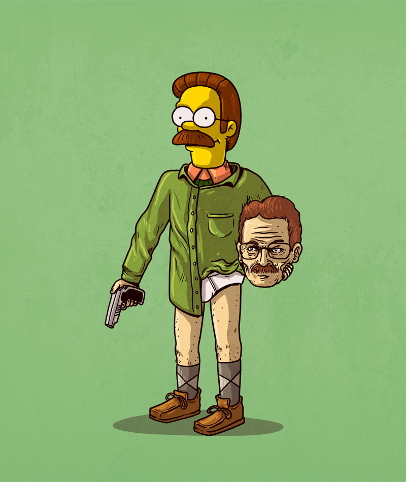 Ned Flanders is Walter White