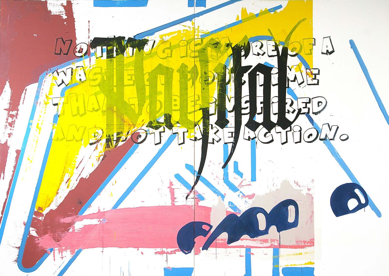 MOTIVATION 285 X 400 Cm, Oil On Canvas, 2015