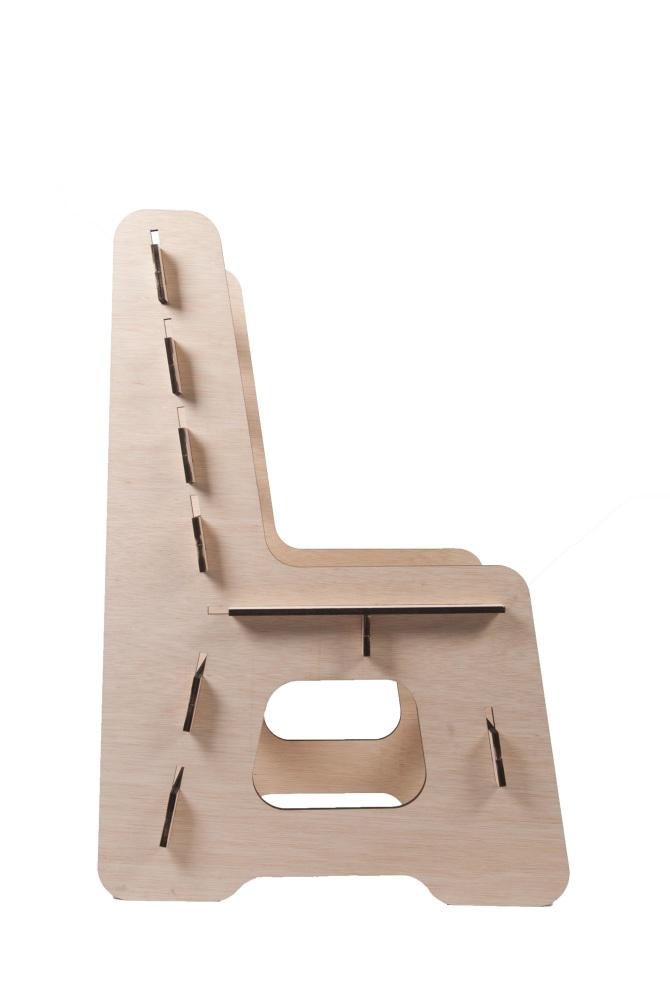 Flat Pack Chair Silvia Claramunt