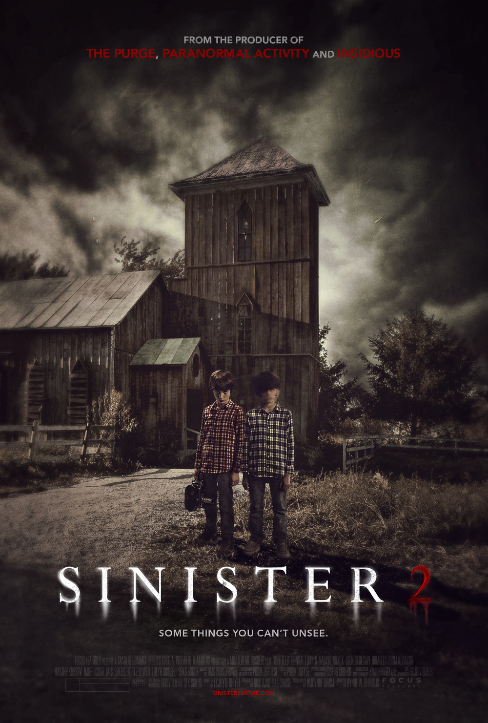 Image Gallery Sinister 2 Poster